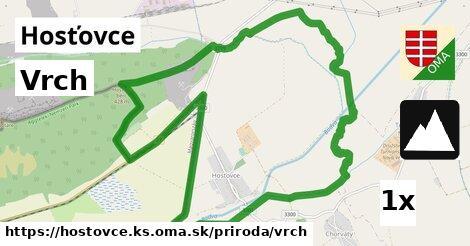 ilustračný obrázok k Vrch, Hosťovce, okres KS