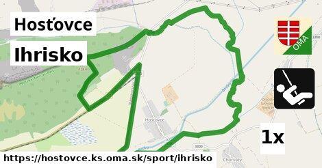 ilustračný obrázok k Ihrisko, Hosťovce, okres KS