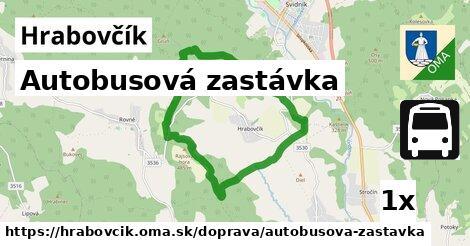 ilustračný obrázok k Autobusová zastávka, Hrabovčík