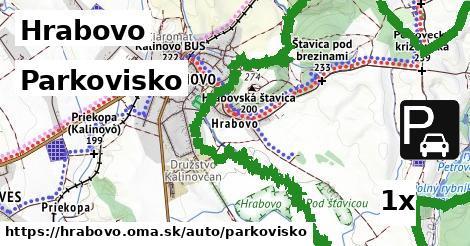 parkovisko v Hrabovo