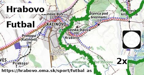 futbal v Hrabovo