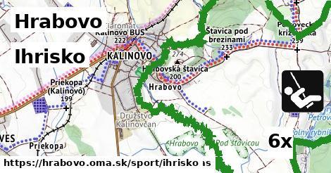 ihrisko v Hrabovo