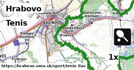 tenis v Hrabovo