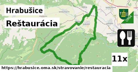 reštaurácia v Hrabušice