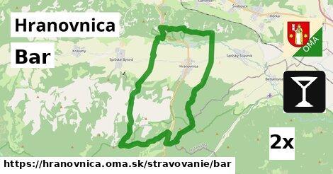 ilustračný obrázok k Bar, Hranovnica