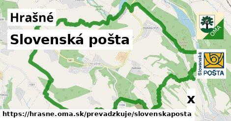ilustračný obrázok k Slovenská pošta, Hrašné