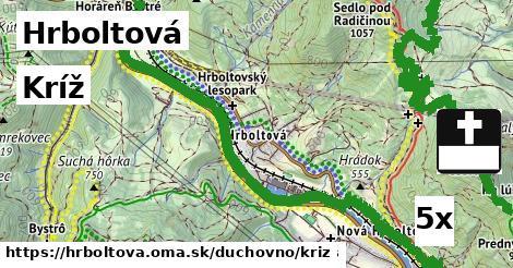 ilustračný obrázok k Kríž, Hrboltová