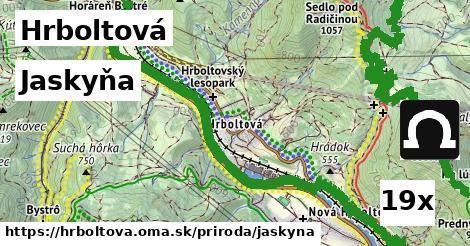 jaskyňa v Hrboltová