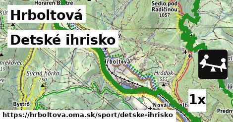 ilustračný obrázok k Detské ihrisko, Hrboltová