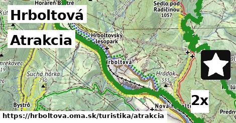 ilustračný obrázok k Atrakcia, Hrboltová
