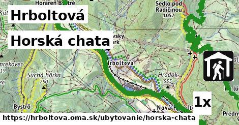 ilustračný obrázok k Horská chata, Hrboltová