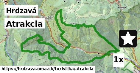 atrakcia v Hrdzavá