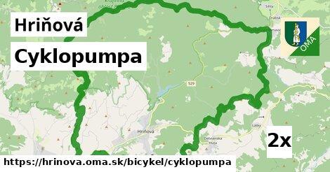 Cyklopumpa, Hriňová