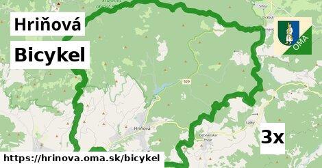 bicykel v Hriňová