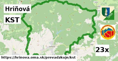 KST v Hriňová