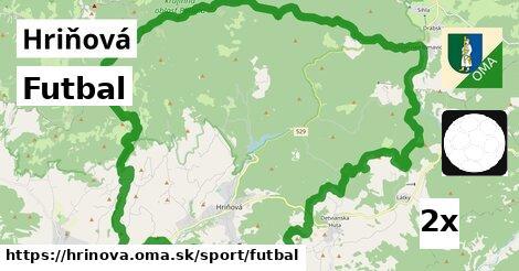 Futbal, Hriňová