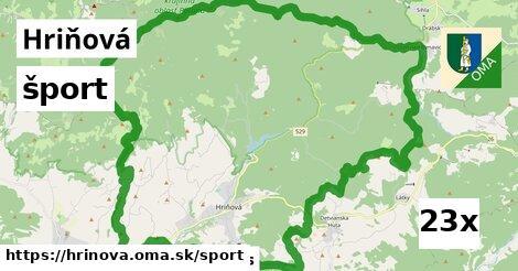 šport v Hriňová