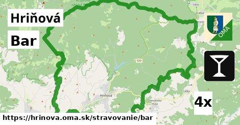 Bar, Hriňová