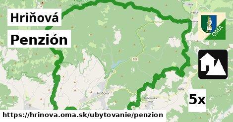 Penzión, Hriňová