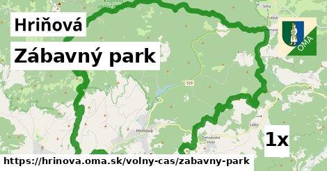 zábavný park v Hriňová