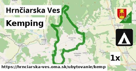 kemping v Hrnčiarska Ves