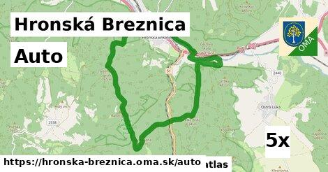 auto v Hronská Breznica