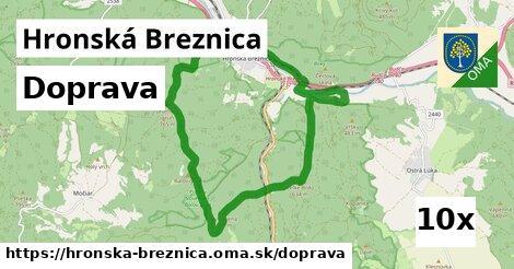 doprava v Hronská Breznica