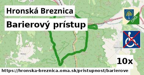 ilustračný obrázok k Barierový prístup, Hronská Breznica