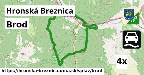 brod v Hronská Breznica