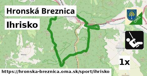 ilustračný obrázok k Ihrisko, Hronská Breznica