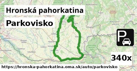 ilustračný obrázok k Parkovisko, Hronská pahorkatina
