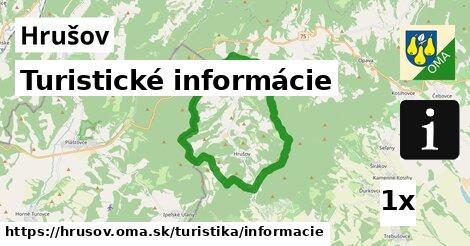 turistické informácie v Hrušov