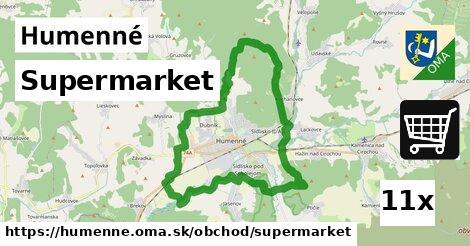 ilustračný obrázok k Supermarket, Humenné