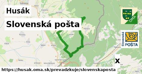 Slovenská pošta v Husák