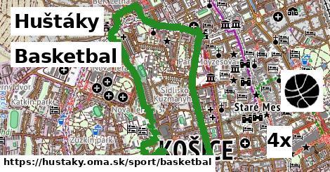 ilustračný obrázok k Basketbal, Huštáky