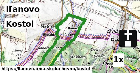 ilustračný obrázok k Kostol, Iľanovo