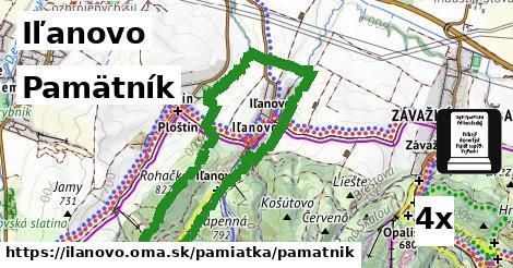 ilustračný obrázok k Pamätník, Iľanovo