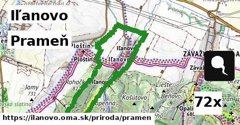 prameň v Iľanovo