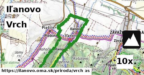 vrch v Iľanovo
