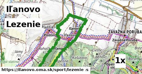 lezenie v Iľanovo