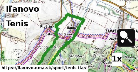 tenis v Iľanovo