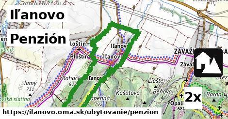 ilustračný obrázok k Penzión, Iľanovo