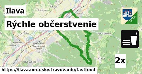 rýchle občerstvenie v Ilava