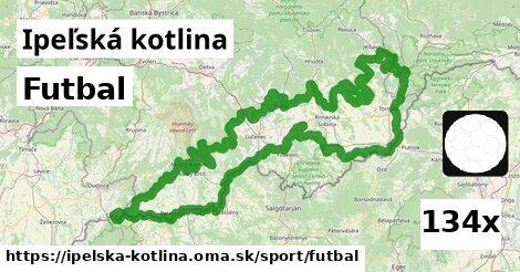 ilustračný obrázok k Futbal, Ipeľská kotlina
