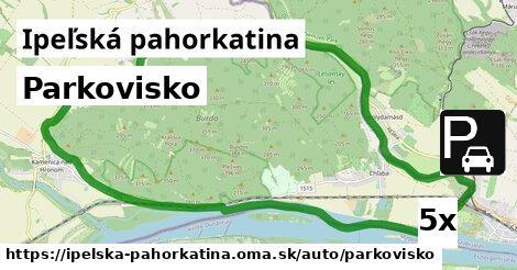 ilustračný obrázok k Parkovisko, Ipeľská pahorkatina