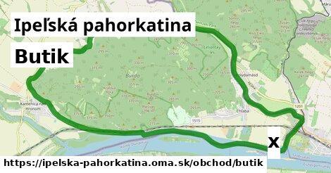 ilustračný obrázok k Butik, Ipeľská pahorkatina