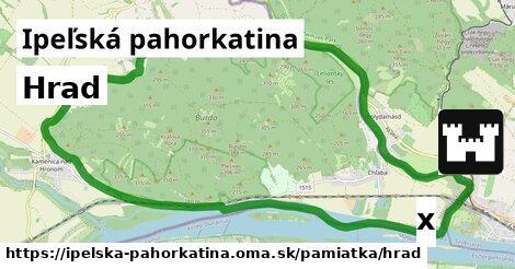 ilustračný obrázok k Hrad, Ipeľská pahorkatina