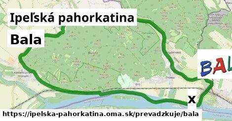 ilustračný obrázok k Bala, Ipeľská pahorkatina
