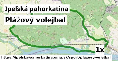 ilustračný obrázok k Plážový volejbal, Ipeľská pahorkatina