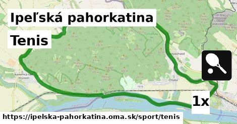 ilustračný obrázok k Tenis, Ipeľská pahorkatina